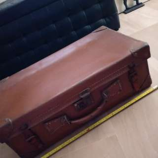 'British made' vintage luggage