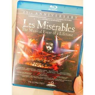 BLUE RAY - Les Miserables 25th Anniversary Concert