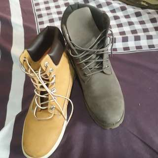 Timberland boots brown and black