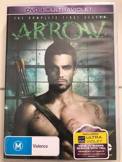 Arrow DVD Season 1