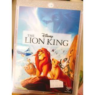 Disney's The Lion King DVD