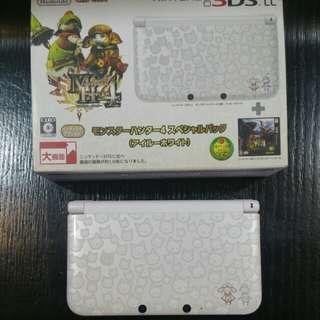 Nintendo 3DS LL Monster Hunter edition