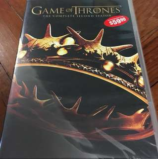 Sealed, Brand New GAMES OF THRONES Season 2