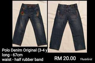 Polo Denim Jeans For Kids