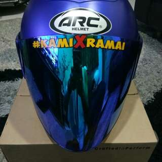 Arc Ritz Helmet (mate blue)