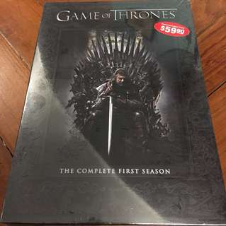 Sealed Brand New GAMES OF THRONES Season 1 DVD