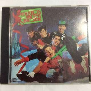 Cd 56a nkotb Christmas Album