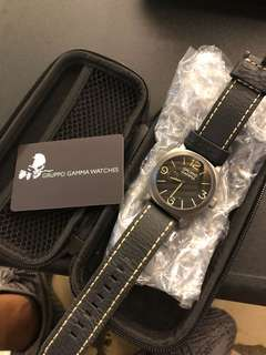 GGOC LE brand new Gruppo Gamma Owners Club limited edition MK II Genesis 44mm PVD SS case 只售給會員 限量100隻. 003/100  Only 100pcs