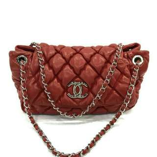 TAS CHANEL BUBBLE RED SHW #13