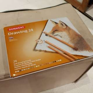 Quick sale Derwent drawing 24