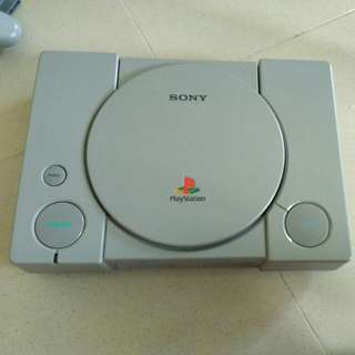 PlayStation 1 and 2 + controllers and games for sale