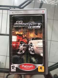 Umd psp midnight club 3 ori