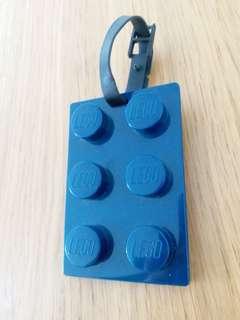 LEGO Lugguage Tag (Navy Blue)