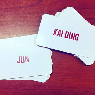 Personalized Namecard