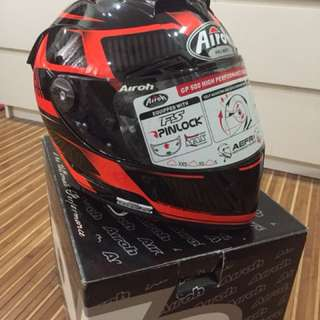 AIROH Fullface Helmet (GP500 First Orange Gloss)