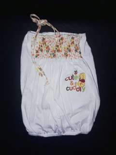 White Pooh Top