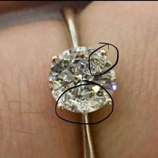 周大福 g color 鑽石戒指  賣12000 買周大福品牌都抵啦周大福 g color 鑽石戒指, 有周大福證書,有單,有盒淨度唔高,有水泡,但超白,超閃,91份 接近一卡