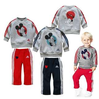 Adidas kid tracksuit boys girls sweater