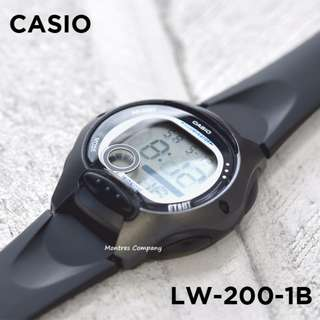Montres Company香港註冊公司(25年老店) CASIO standard LW-200 LW-200-1 LW-200-1B 七隻色都有現貨 LW200 LW2001 LW2001B