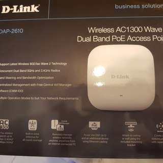DAP-2610 dual band access point