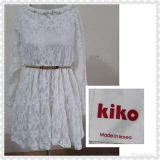 KOREAN LACEY DRESS M/L
