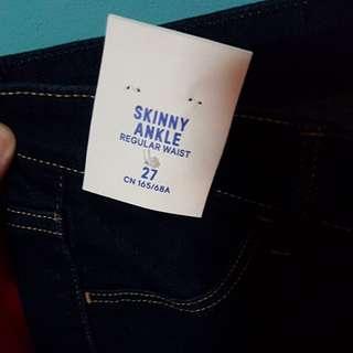 H&M Dark Blue Skinny Jeans