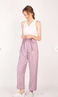 AFA A For Arcade GIA Palazzo Jumpsuit in Pink