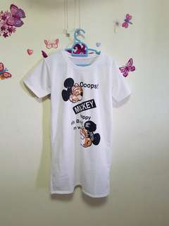 Mickey T - Shirt dress