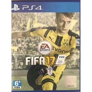 PS4 FIFA17 (like new)