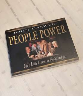 Charity Sale! People Power by John Maxwell Christian Book