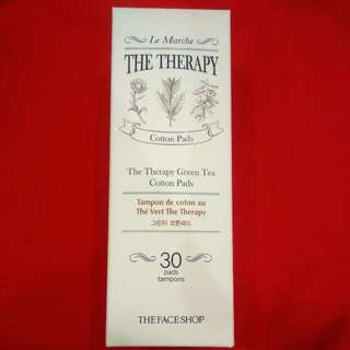 The Face Shop The Therapy Green Tea Cotton Pads