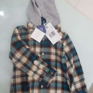 Jual baju boy uk 3yo (98) chicco new