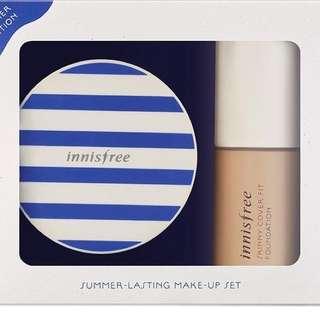 Innisfree - Summer-Lasting Make Up Set