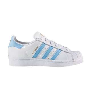 Authentic Adidas Superstar in Pastel Blue