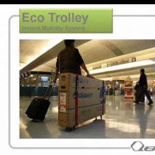 Qbicle Eco-Trolley Set