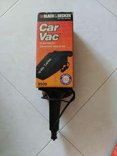 Black & Decker car vacuum cleaner
