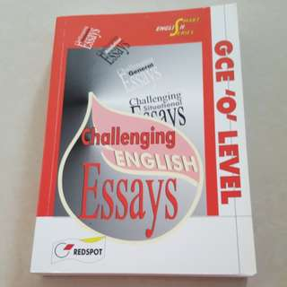 Challenging English Essays GCE 'O' Level