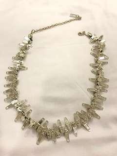 Authentic Marc Jacobs Zip Necklace
