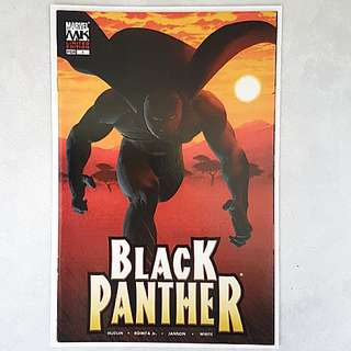 Marvel Comics Black Panther 1 Limited Edition Variant Cover