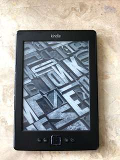 Kindle Paperback 4th generation - wifi version