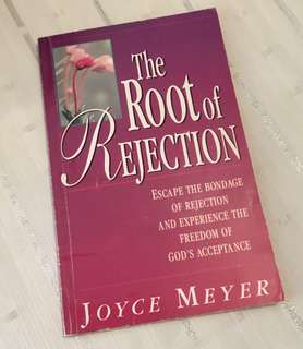 Charity Sale! The Root of Rejection by Joyce Meyer Christian Book
