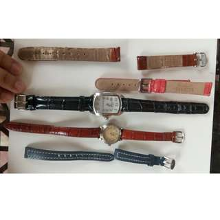 Invicta Lupah and Guess Indiglo