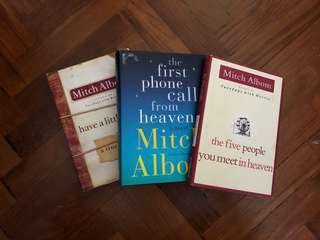 Bundled sales - Mitch Albom books