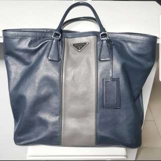 Prada soft Saffiano leather tote