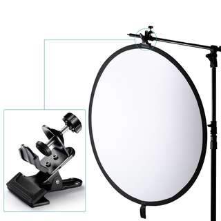 Pxel AAUC6 U C Clip Clamp for Light Stand Reflector Tripod Boom Arm