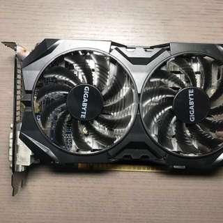 NVIDIA GTX 750ti Windforce 2GB graphics card gpu