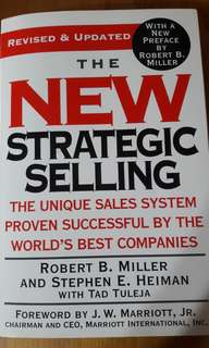 The new strategic selling by Robert B. Miller