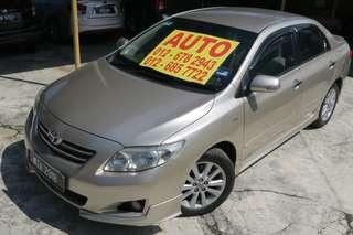 2010 Toyota Altis 1.8 G Auto TRD Spec