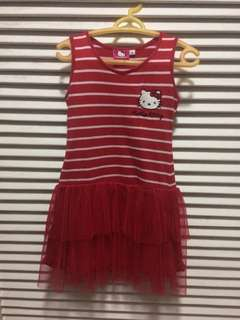 Hello Kitty Red Dress