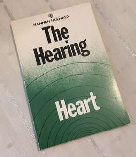 Charity Sale! The Hearing Heart by Hannah Hurnard Christian Book
